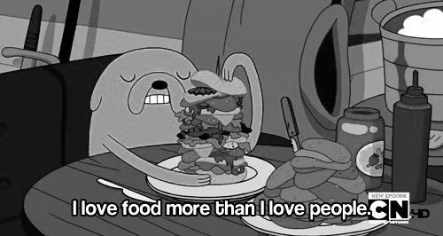 adventure time, black and white, draw, drawing, food