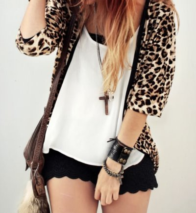 aessories, animal print, bag, blonde, cross