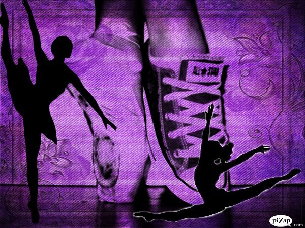 all star, b&w, ballet, black and white, converse, love, pointe shoes, purple, shoes