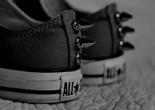 all star, b&w, beautiful, black and white, converse