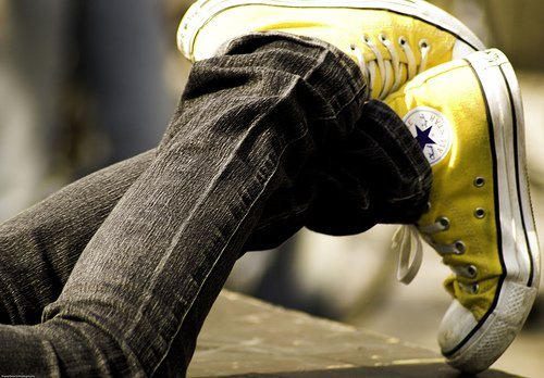 all star, converse, yellow
