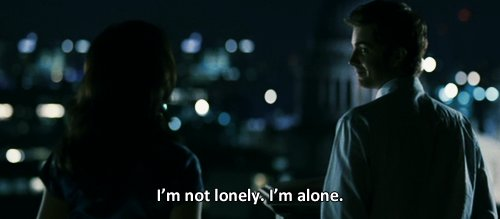 alone, anne hathaway, jim sturgess, loneliness, lonely