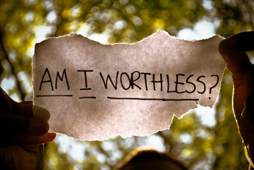 am i worthless, message, question, text, words