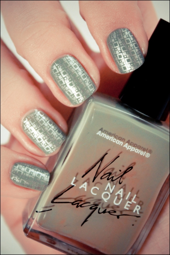 american apparel, konad, nail art, nail polish, nails