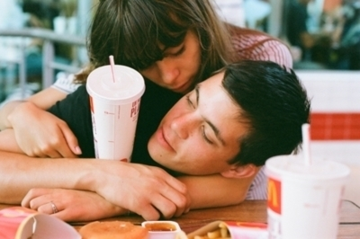 amor, casal, couple, love, mc donald