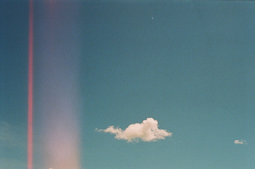 analog, blue, cloud, light, photo, photography, sky, summer