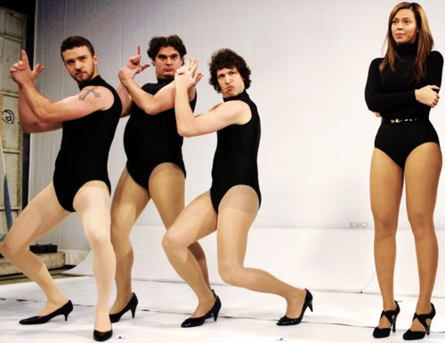 andy samberg, beyonce, justin timberlake, single ladies