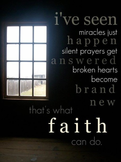 answer, answered, broken, broken hearts, faith, heart, hearts, miracle, miracles, new, prayer, prayers, silent