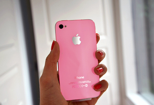 apple, iphone, pink, pretty