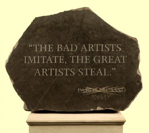 Banksy Picasso