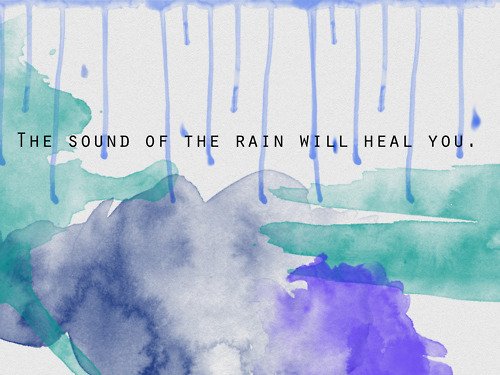 art, hea, inspiring, pain, paint, quote, rain, watercolor