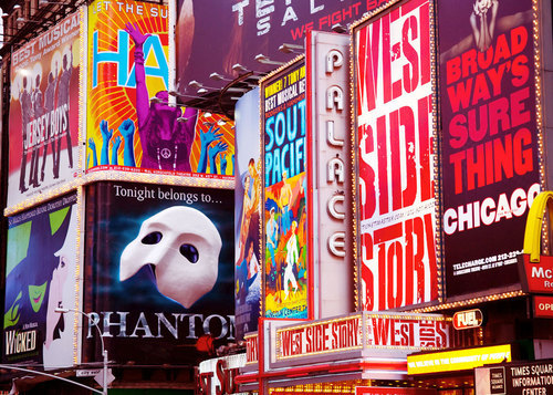 arts, broadway, musicals, new york city, times square