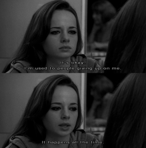 Tv Quotes Tumblr: Ashley Rickards, Black And White, Giving Up, One