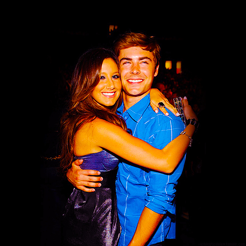 ashley tisdale, couple, zac efron