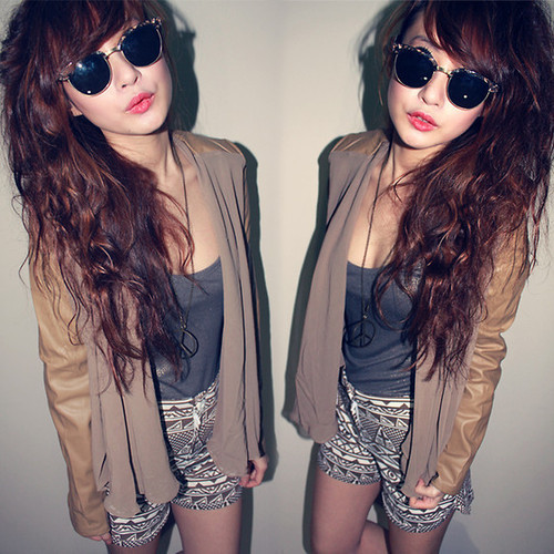 Aztec fashion girl hipster lookbook image 340140 on Pretty girl fashion style tumblr