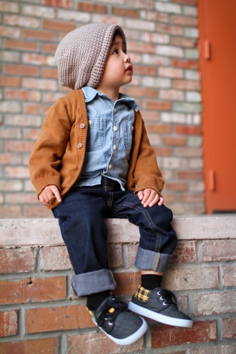 baby boy, baby got swag, beanie, boy, cardigan, cute, fall fashion