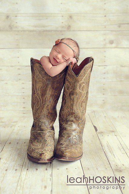 baby cowboy boots, country, cute - image #331864 on Favim.com