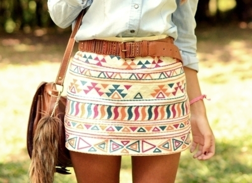 bag, brown belt, fashion, pretty, skirt