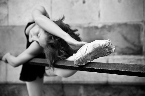 ballerina, ballet, beautiful, black and white, dance