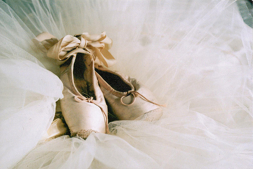 ballet, ballet shoes, cute, vintage