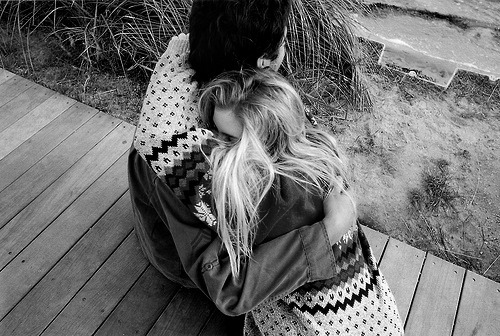 b&w, black and white, blackandwhite, boy, couple, cute, girl, hug, photography