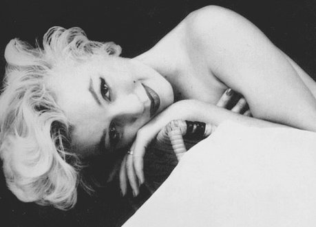 b&w, black and white, blond, blond hair, marilyn monroe, pretty, vintage, woman