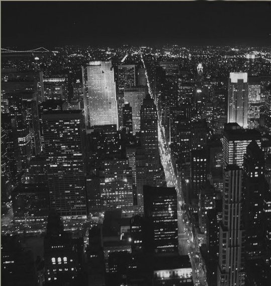 b&w, black and white, building, buildings, city, city lights, night lights, night, light, landscape, lights, urban