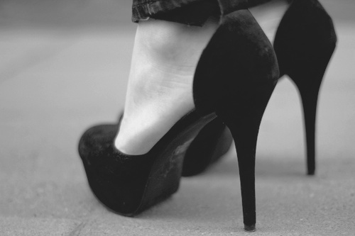 cute black shoes quotes