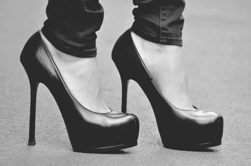 b&amp;w, black, black and white, black shoe, black shoes