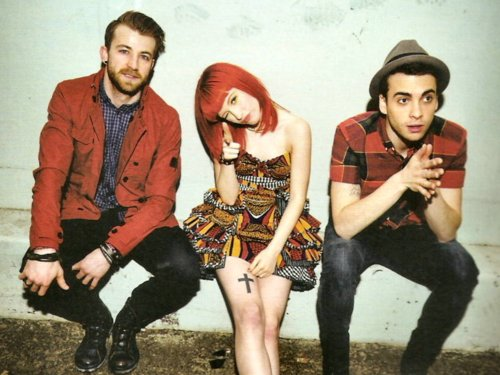 band, cute, hayley williams, jeremy davis, paramore, taylor york