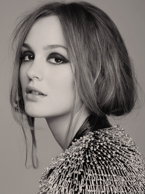 beautiful, beauty, black and white, face, leighton meester