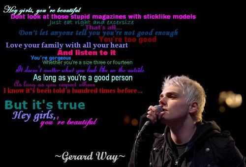 beautiful, black, blue, family, gerard way, heart, love, red, text, truth, white