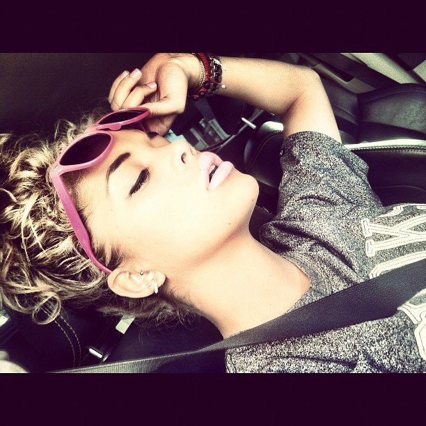 beautiful, blonde, curly hair, dope, girl