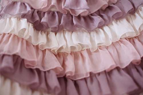 beautiful, cloth, colours, fabrics, fashion, lavendar, lilac, pastel, pretty, purpe, tulle
