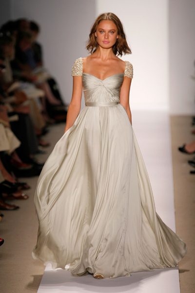 beautiful, fashion, gown, ivory, wedding