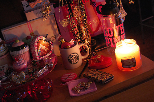 beautiful, girly, jewelry, pink, pretty, starbucks, stuff
