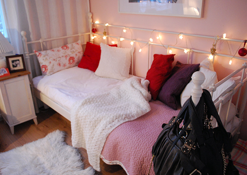bed, interior design, rooms