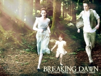Bella swan breaking dawn edward cullen family renesmee cullen