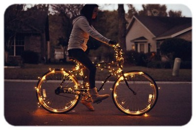 bicycle, lights, sport, ugg