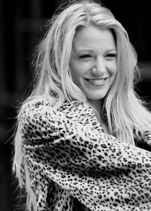 black and white, blake, blake lively, blonde, chanel