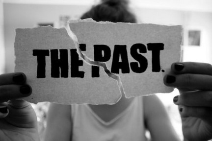 black and white, broken, past, text, the past