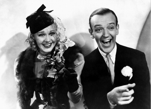 Black And White Fred Astaire Ginger Rogers And Old Hollywood Image 336729 On Favim Com