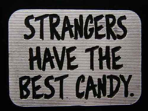 black, candy, fuck yeah, grey, haha, lol, monster, scary, stranger, strangers, text, white