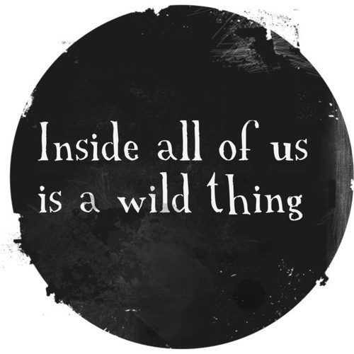 black, cute, inside, love, photo, photography, picture, quote, text, white, wild, wild thing, word, words