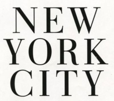 Black new york new york city nyc text white