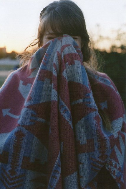blanket, girl, hipster, indie, morning, pretty, sunrise