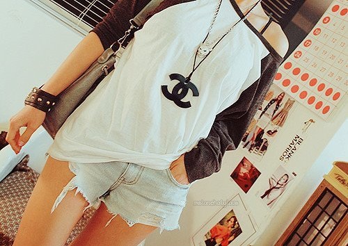 blazer, chanel necklace, cute, fashion, jacket, outfit, shorts, style, top