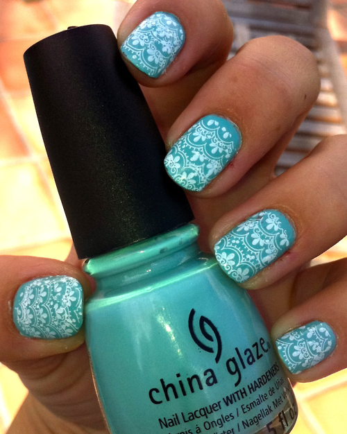 blue, china glaze, cute, fashion, girl
