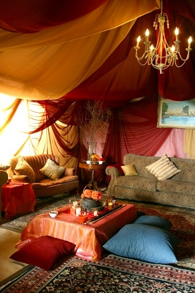 bohemian, candles, carpet, cute, hippie