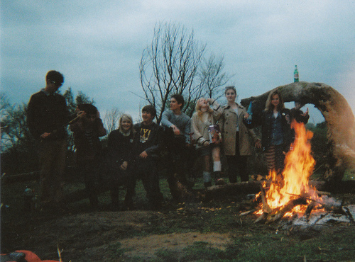 bohemian, fire, girl, guy, indie, love, nature